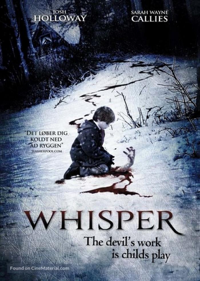 whisper-danish-poster